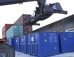 Intra-Russian special delivery. Containers